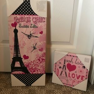 Other - Paris wall canvas picture